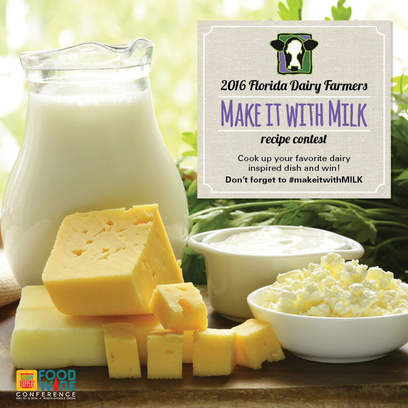 2016 #makeitwithMILK Recipe Contest #FWCon